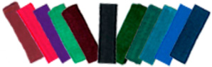 Headbands in 11Dark Colors